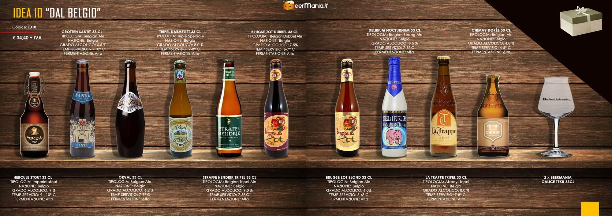 selezione birre belghe beermania